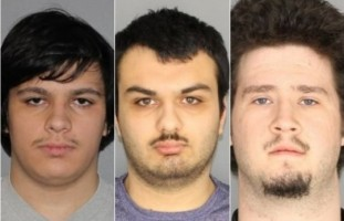 Andrew Crysel, Vincent Vetromile, Brian Colaneri (Photo: Greece Police Department)